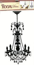 """купить: Декоративная наклейка Наклейка на стіну """"Люстра"""""""