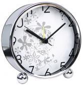 купить: Часы и будильник Будильник на стіл білий