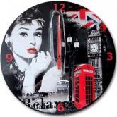 купить: Часы и будильник Настенные часы Audrey