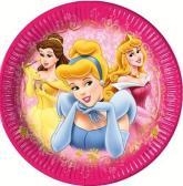 """купить: Праздничное украшение 10 бумажных тарелок """"Принцессы Дисней"""", 23 см"""