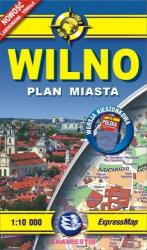купить: Карта Wilno- kieszonkowy plan miasta 1:10 000