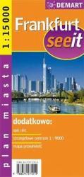 купить: Карта Frankfurt see it plan miasta 1:15 000
