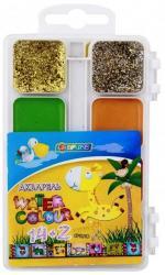 купить: Канцелярия Акварель медова Africa Kids, 14+2 кольорів