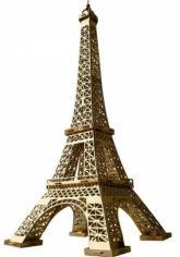 купити: Модель для збирання Эйфелева башня (золото). Сборная модель из картона