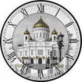 купить: Пазл Храм Христа Спасителя. Пазл-часы