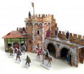 buy: Play Set Угловая башня. Сборная модель из картона