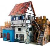купити: Ігровий набір Дом у стены. Сборная модель из картона
