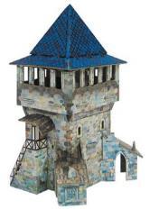 купить: Игровой набор Верхняя башня. Сборная модель из картона