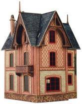купить: Модель для сборки Вилла в Везине. Сборная модель из картона