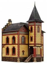 купить: Модель для сборки Вилла в Виллемомбле. Сборная модель из картона