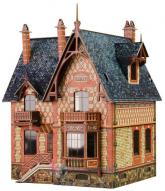 купить: Модель для сборки Вилла в Шато. Сборная модель из картона