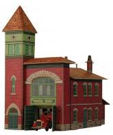 купить: Модель для сборки Пожарное депо. Сборная модель из картона