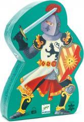 купить: Пазл Средневековый рыцарь. Детский пазл Djeco
