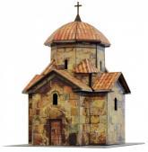 купить: Модель для сборки Церковь Кармравор. Сборная модель из картона. Масштаб 1:87