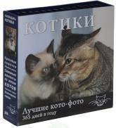 купить: Календарь Календарь. Котики: Лучшие кото-фото. 365 дней в году