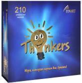 купить: Настольная игра Thinkers. 210 карточек. Логическая игра