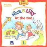 купити: Книга Первый английский с  Nick and Lilly. At the zoo