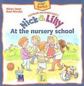 купити: Книга Первый английский с  Nick and Lilly. At the nursery school