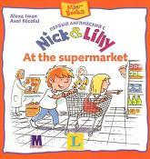купити: Книга Первый английский с  Nick and Lilly. At the supermarket