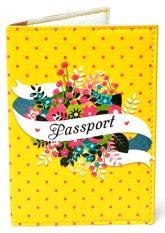 купить: Обложка Квіти №84. Обкладинка на паспорт