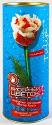купить: Набор для творчества Тюльпан. Бисерный Цветок. Набор для творчества
