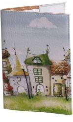 купить: Обложка Чарівні будиночки. Обкладинка на паспорт
