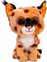 "купити: М`яка іграшка Мягкая игрушка  Beanie Boo's Рись ""Buckwheat"""