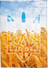 купить: Обложка Герб та Пшениця. Обкладинка на паспорт