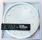купить: Часы и будильник Годинник настінний GLAM SILVER
