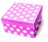 buy: Book Коробка для подарунків в горох Multi, M, в асортименті