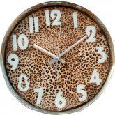 купить: Часы и будильник Годинник настінний Леопард
