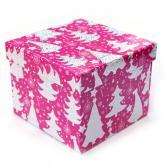 купить: Коробка Коробка для подарунків рожева 14х14х11