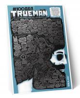 купить: Плакат Скретч постер #100дел True Man Edition