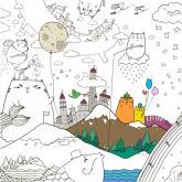 купити: Набір для творчості Котоляндія. Розмальовка (59х84 см)