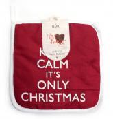 купить: Праздничное украшение Прихватка Keep Calm It`s Only Christmas