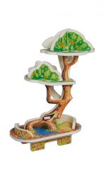 купить: Модель для сборки Бонсай. Сборная модель из картона