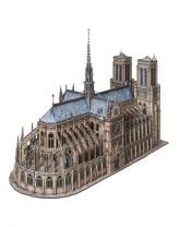 купить: Модель для сборки Нотр-Дам де Пари. Сборная модель из картона