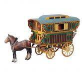 купить: Модель для сборки Цыганское вардо. Сборная модель из картона