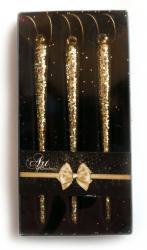 купить: Праздничное украшение Набір ялинкових прикрас-бурульок GOLD