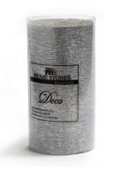 купить: Сувенир Свічка Deco срібляста, 6х11 см
