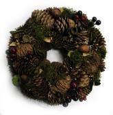 купить: Праздничное украшение Вінок декоративний Чари лісу