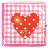 купить: Праздничное украшение Серветки паперові SWEET LOVE