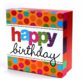 купить: Коробка Коробка для подарунків Happy birthday, S