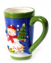 купить: Чашка и посуда Чашка Сніговик, в асортименті