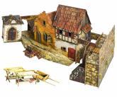 купить: Модель для сборки Городская площадь. Рынок. Сборная модель из картона