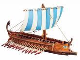 купить: Модель для сборки Греческая бирема. Сборная модель из картона