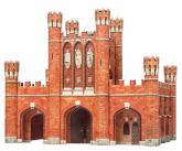 купить: Конструктор Королевские ворота. Сборная модель из картона