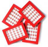 buy: Book Рамка для фото BLACK WHITE RED, в асортименті