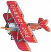 купить: Модель для сборки Самолетик (красный). Сборная модель из картона