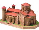 купить: Конструктор Церковь святого Мартина во Фромисте. Конструктор из глины